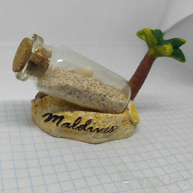 Настольный сувенир Мальдивы. Maldives. Пальма, фото №6