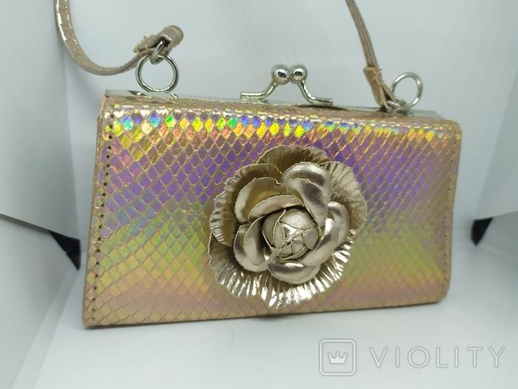 Новая сумочка малышка на коротенькой ручке, фото №3