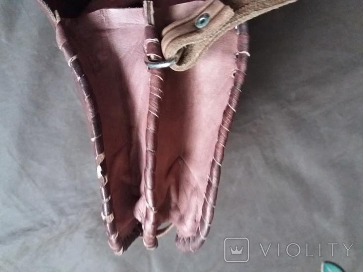 Кожаная сумка + кошелек, фото №7