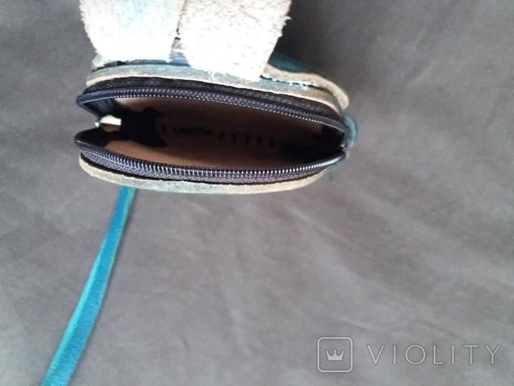 Кожаная сумка + кошелек, фото №13