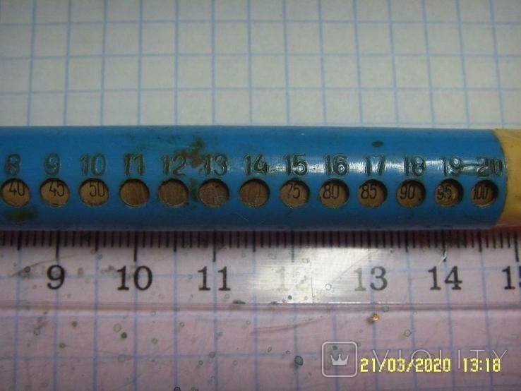 Ручка с таблицей умножения из СССР. На реставрацию., фото №4