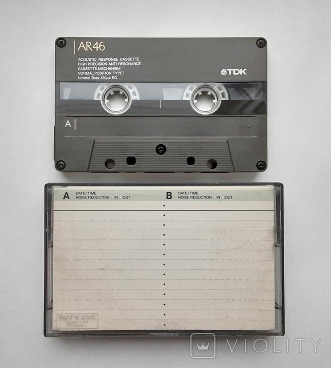 Аудиокассета TDK AR 46 (Jap 1988), фото №2