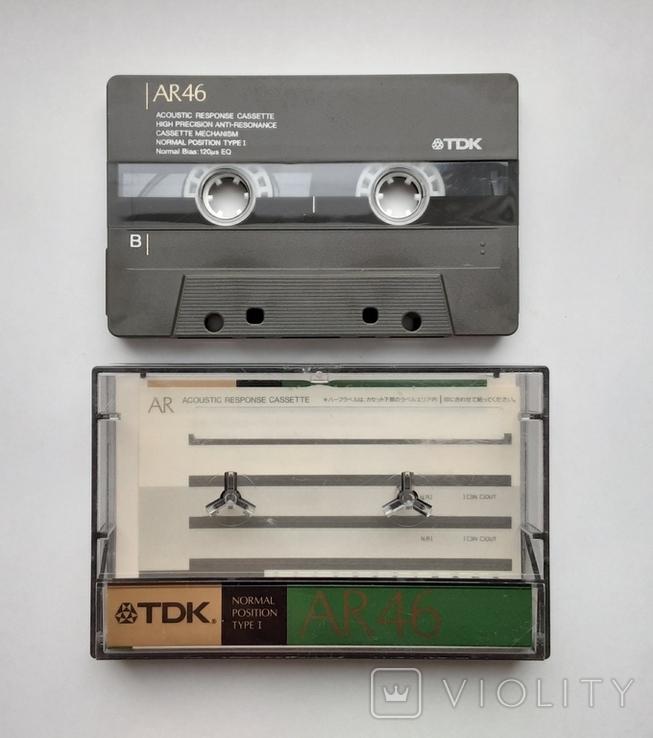 Аудиокассета TDK AR 46 (Jap 1988), фото №3
