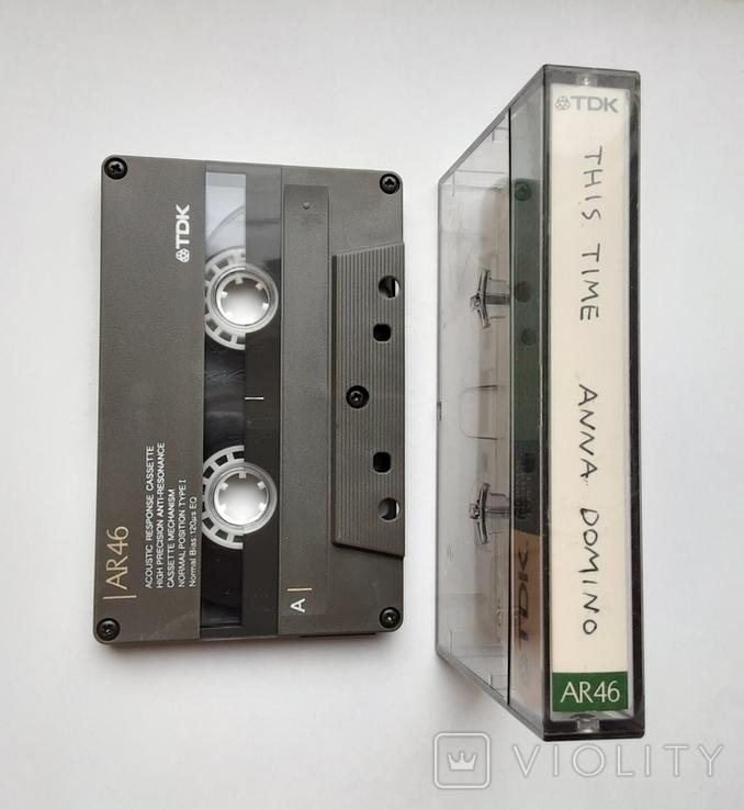 Аудиокассета TDK AR 46 (Jap 1988), фото №7