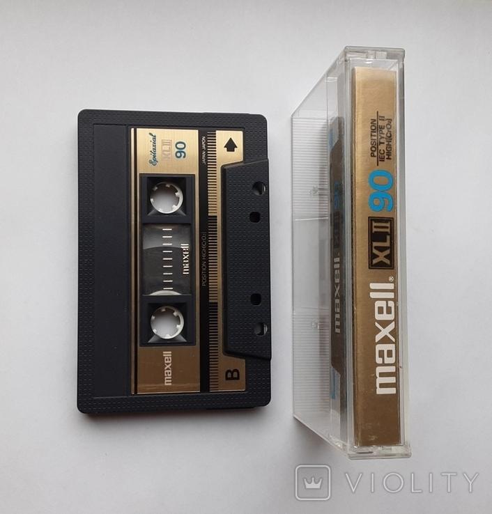 Аудиокассета Maxell XL II 90 (Jap), фото №4