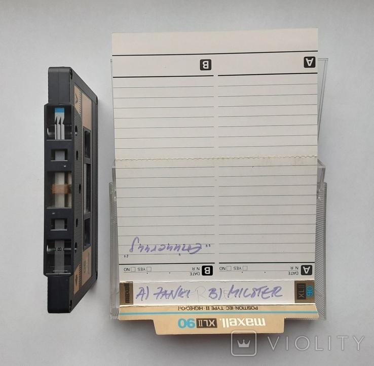 Аудиокассета Maxell XL II 90 (Jap), фото №6