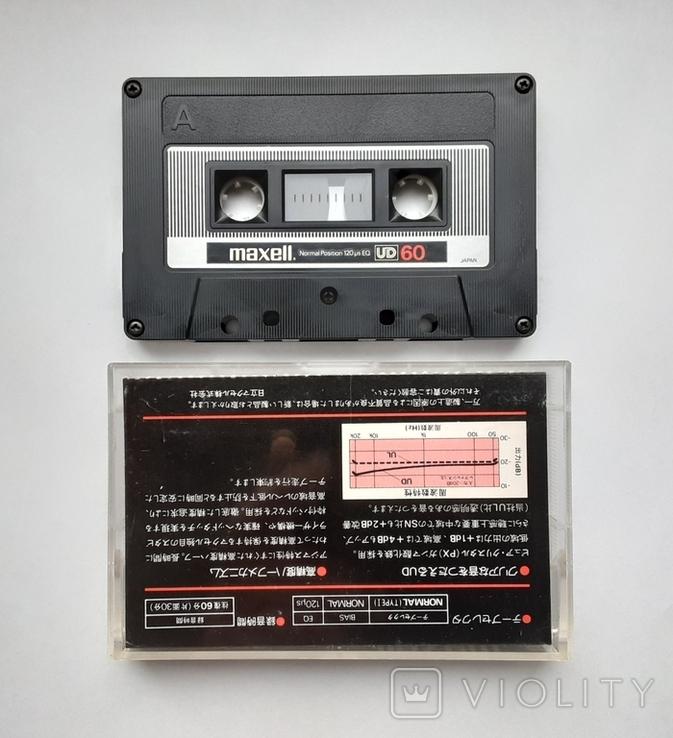 Аудиокассета Maxell UD 60 (Jap), фото №2