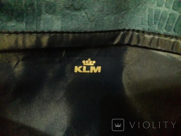 Косметика чехол для билетов паспорта и пр. От авиакомпании KLM. Новая, фото №5