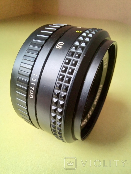 Riconar 1:2,2 55mm, фото №3