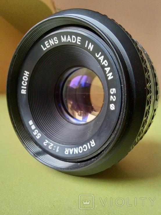 Riconar 1:2,2 55mm, фото №2