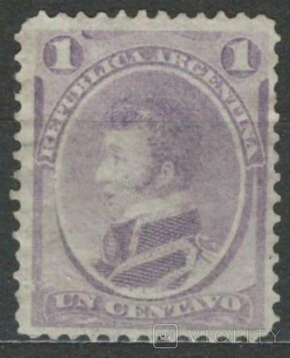 И03 Аргентина 1873 №18 (*) (8 евро)