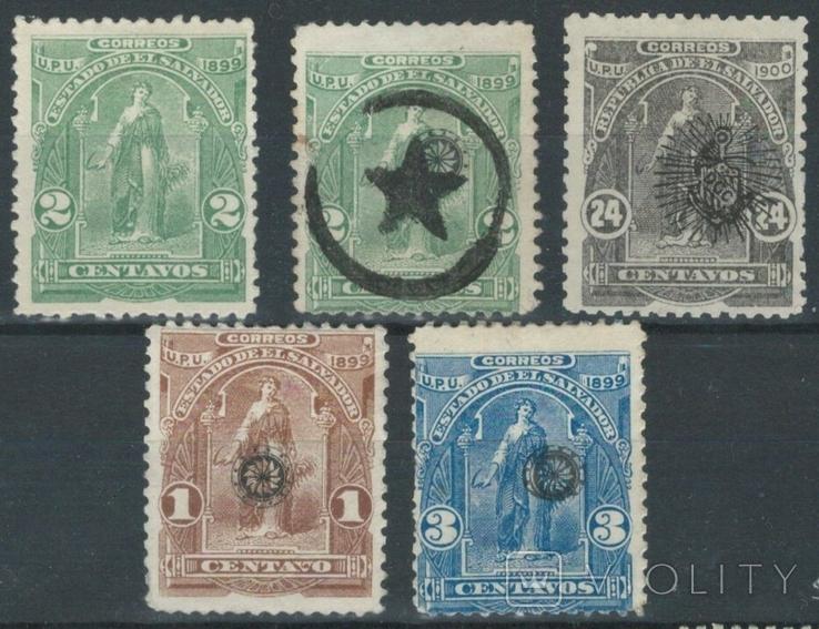 К03 Сальвадор 1899-1900