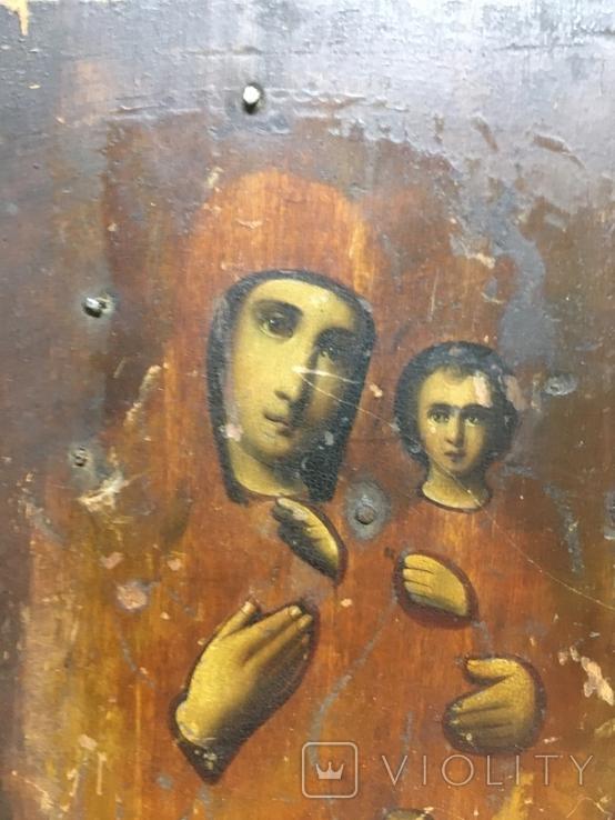 Икона Пр.Богородицы (10.5х13), фото №3