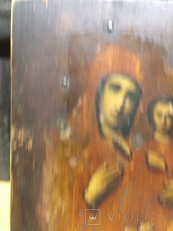 Икона Пр.Богородицы (10.5х13), фото №4