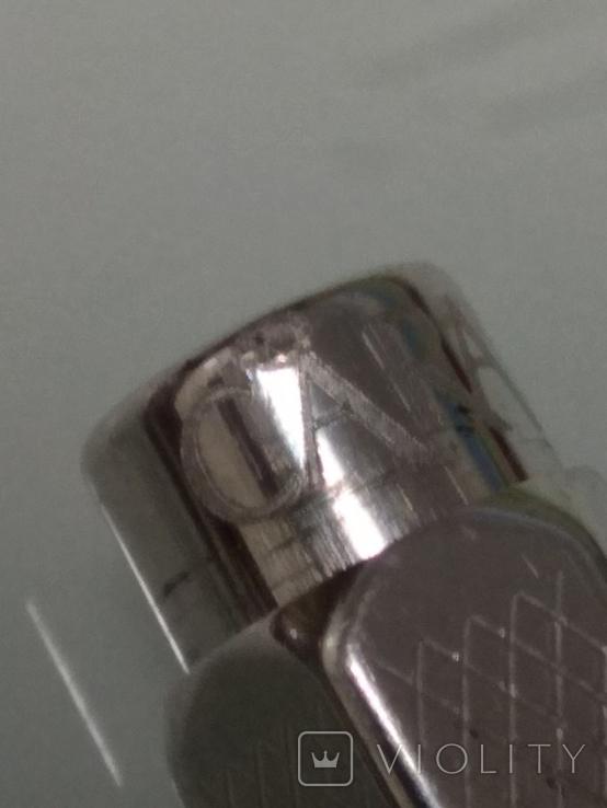 Срібна колекційна ручка Швейцарської фірми CARAN d' ACHE, фото №6