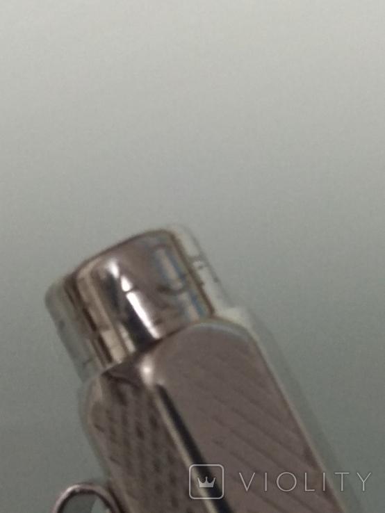Срібна колекційна ручка Швейцарської фірми CARAN d' ACHE, фото №8