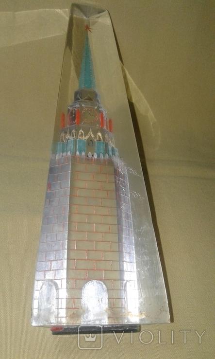 Спасская башня. Оргстекло., фото №9