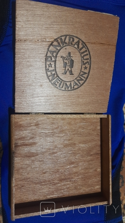 Коробка от сигарилл Вермахта с акцизкой, фото №4