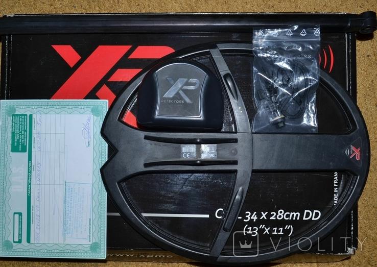 Металошукач XP Deus 34х28 DD, фото №2