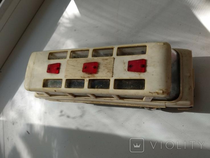 Модель игрушка Автобус Салют ГАЗ (ЗИЛ) 118 Юность 60е годы, фото №4