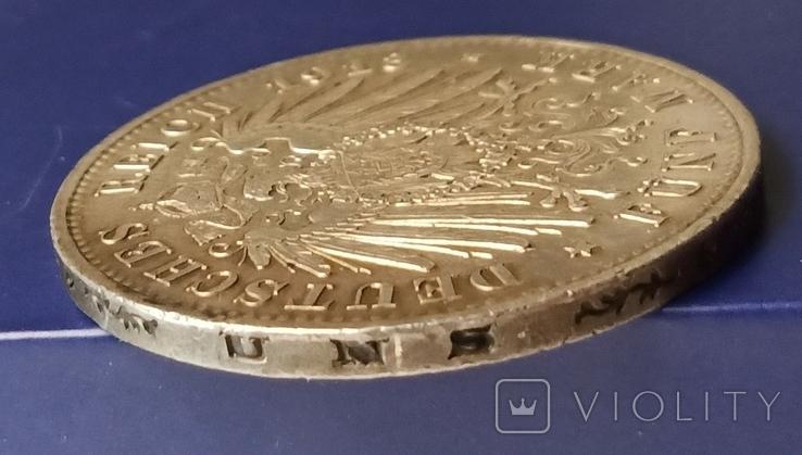 5 марок 1913 р. Вільгельм ІІ в мундирі, фото №9
