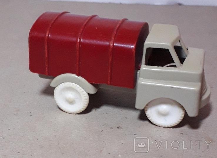 Машинка ТЕНТ грузовая СССР, фото №2