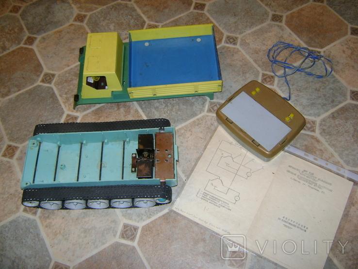 Игрушка электромеханическая для творчества Тягач, фото №5