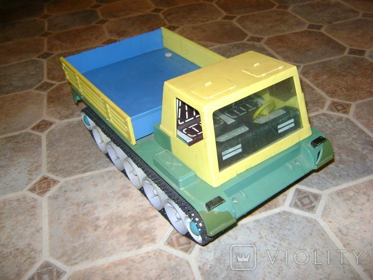 Игрушка электромеханическая для творчества Тягач, фото №9