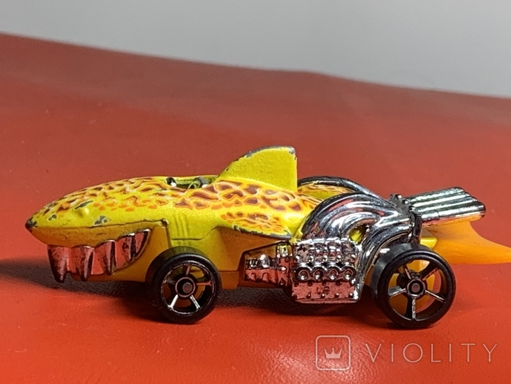 Hot wheels 1986 - Vintage Rare Tiger Shark Car, фото №3