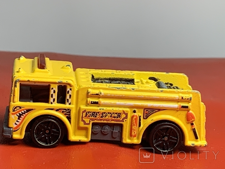 Hot Wheels Rare 1976 Engine 52, фото №2