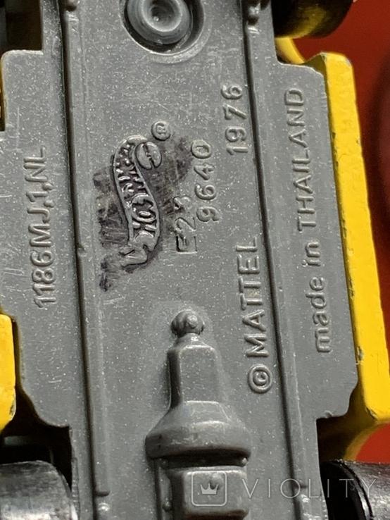 Hot Wheels Rare 1976 Engine 52, фото №8
