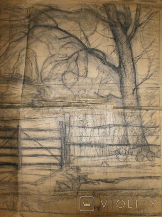 Большая работа А. Сафаргалина (150х120 см.), фото №3