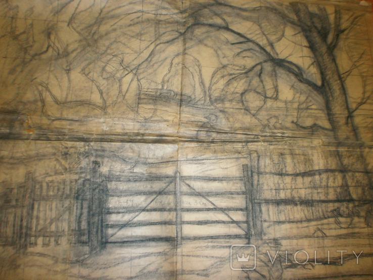 Большая работа А. Сафаргалина (150х120 см.), фото №4