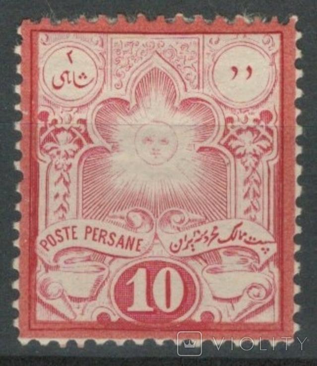 Ж07 Персия 1882 №41* (35 евро)