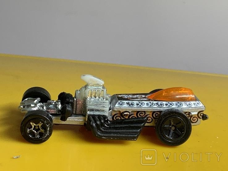 Mattel 1994 Hot Wheels Metallic Dragster, фото №4