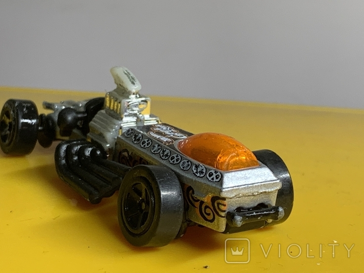 Mattel 1994 Hot Wheels Metallic Dragster, фото №5