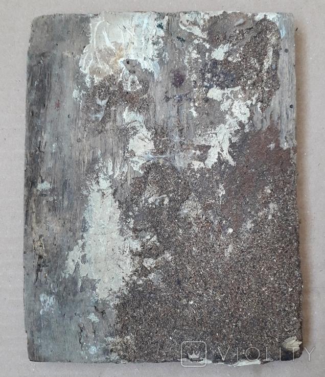 Икона 17.7 см х 13.5 см, Дерево, фото №9