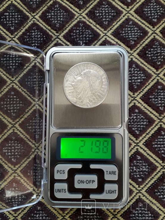 10 злотых 1932год серебро, фото №5