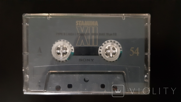 Касета Sony Stamina XII 54 (Release year: 1995), фото №2