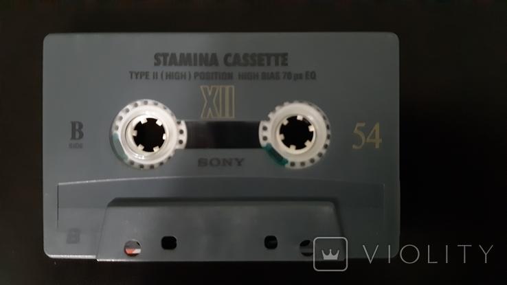 Касета Sony Stamina XII 54 (Release year: 1995), фото №6