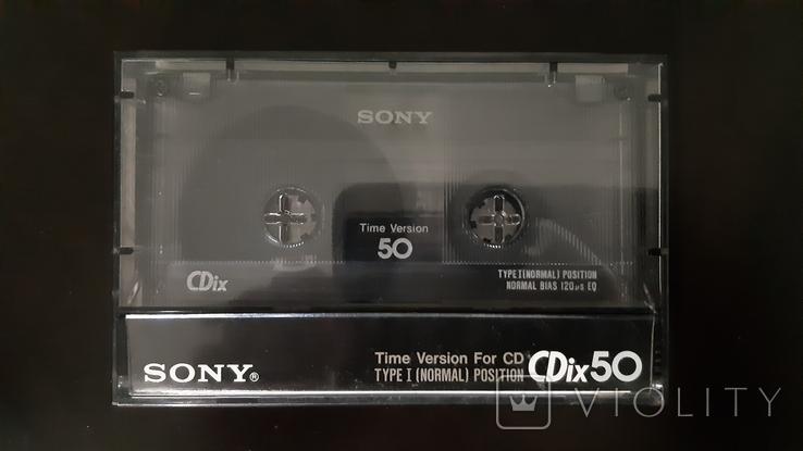 Касета Sony CDix 50, фото №2