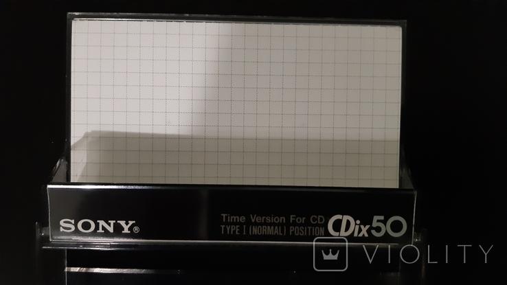 Касета Sony CDix 50, фото №4