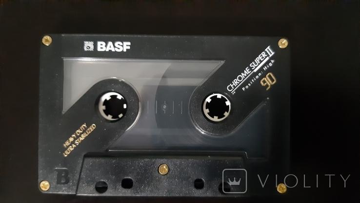 Касета BASF Chrome Super II 90 (Release year: 1991), фото №5