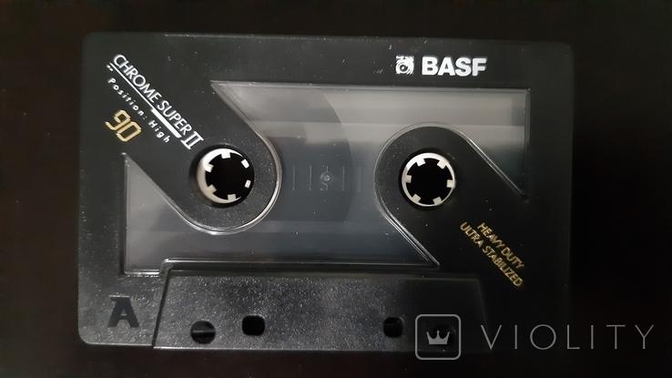 Касета BASF Chrome Super II 90 (Release year: 1991), фото №6