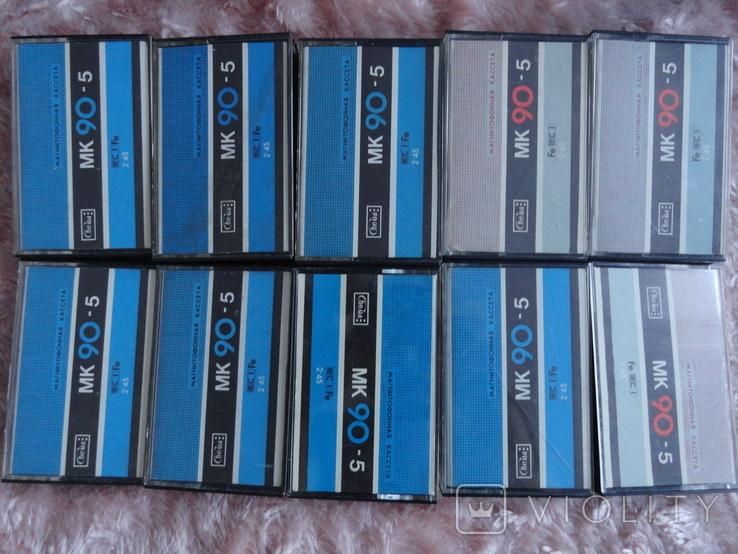 Кассеты МК90-5 с кассетницей 10шт., фото №4