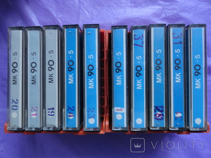 Кассеты МК90-5 с кассетницей 10шт., фото №5
