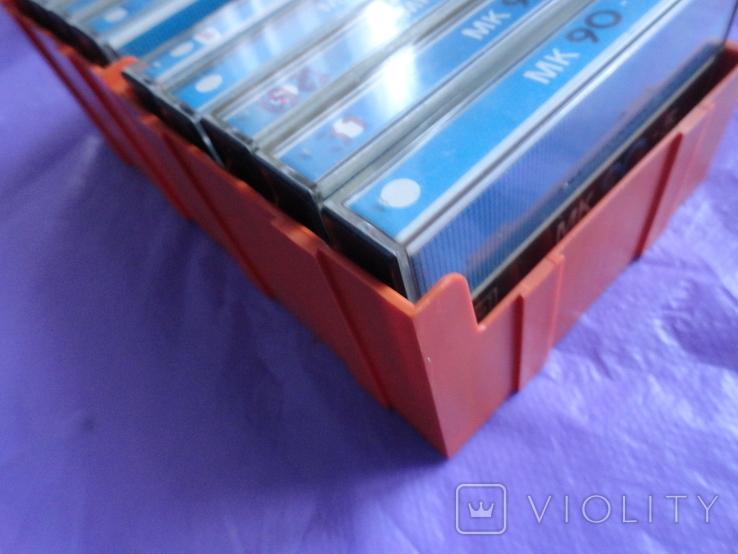 Кассеты МК90-5 с кассетницей 10шт., фото №2