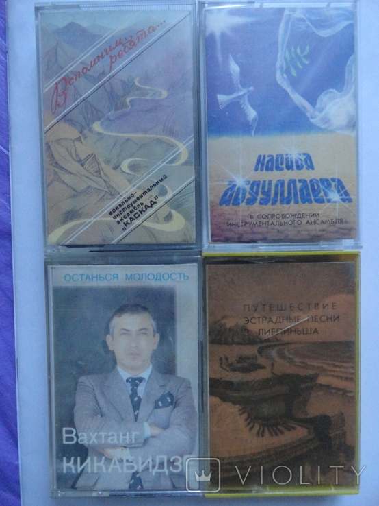 Студийные кассеты с кассетницей, фото №2