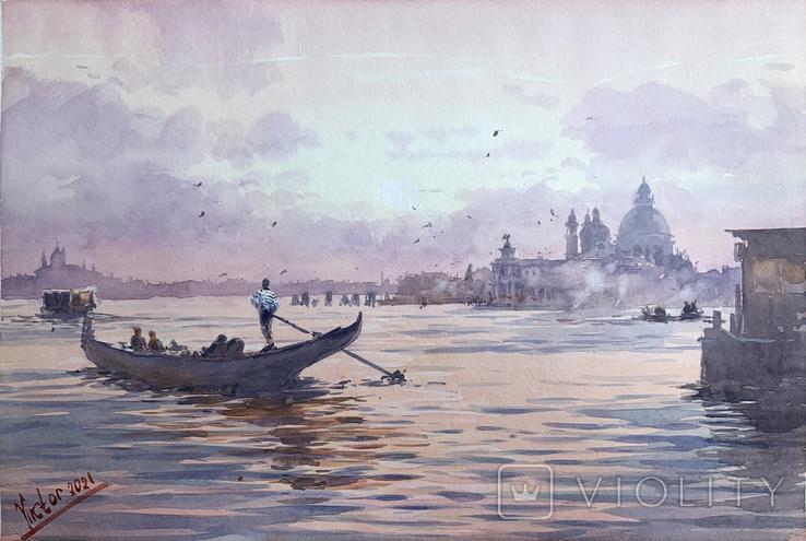 """Картина """"Венеция, закат"""". Микитенко Виктор"""