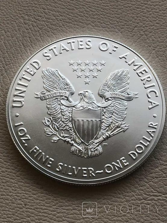 Новинка США один доллар 2021 год 20 штук в роле, фото №3